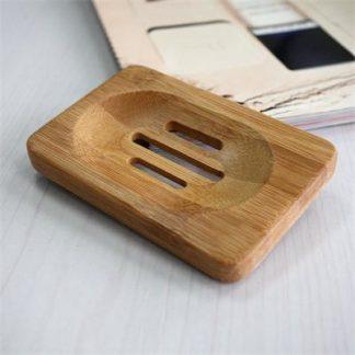 Porte savons en bamboo naturel