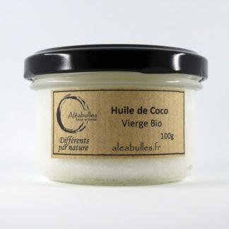 Huile de coco vierge issue de l'agriculture biologique
